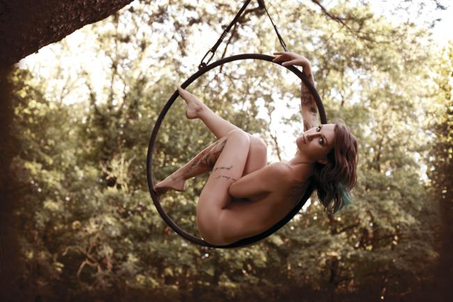 AERIAL HOOP Shooting - Jessica Schweigert (Pole Circus)