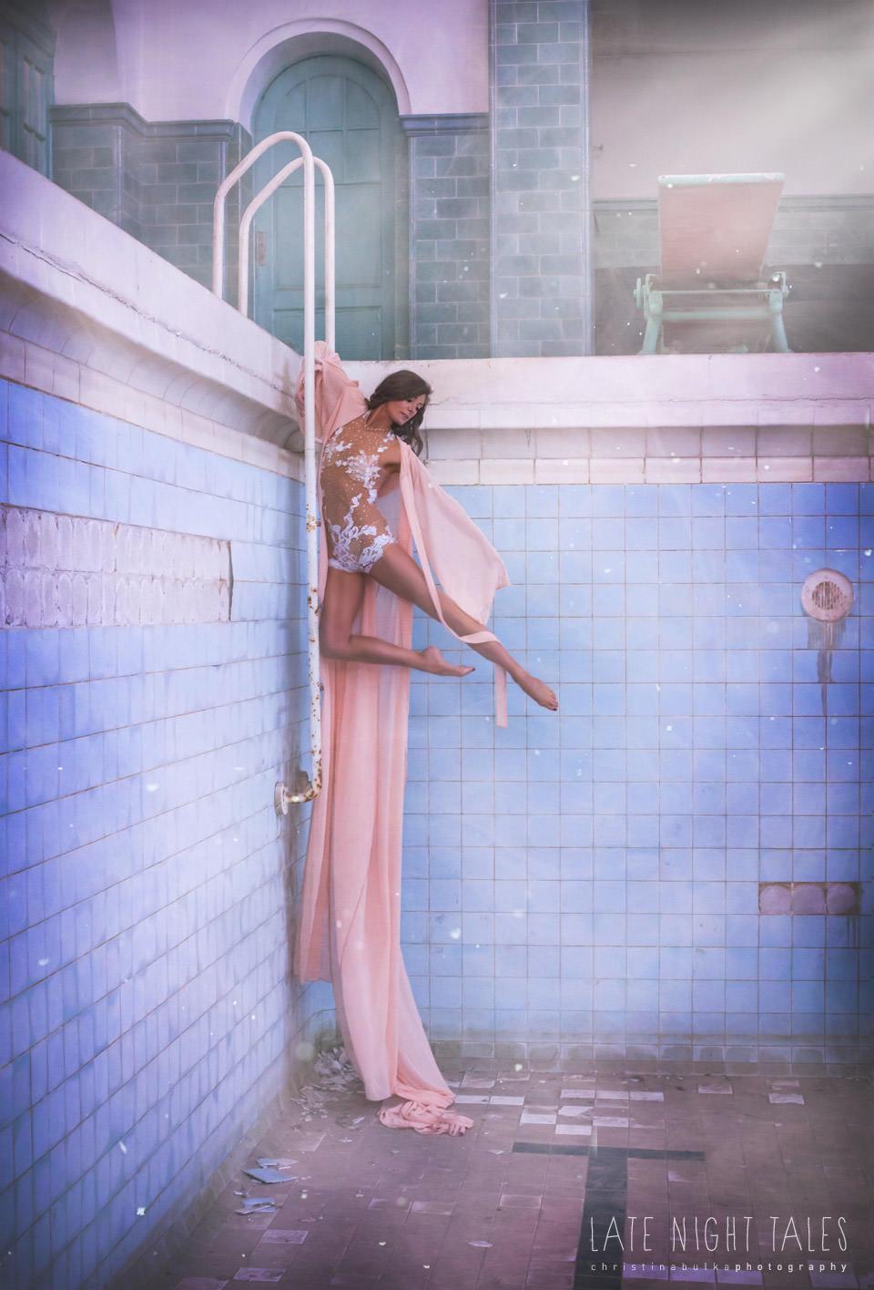 AKROBATIK Shooting - Keeva Treanor (Air Candy) Fotoshooting - LATE NIGHT TALES Christina Bulka Fotograf Fotografie