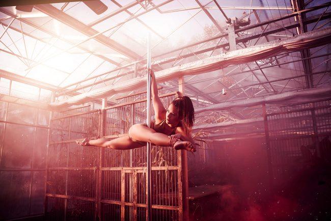POLEDANCE Shooting - Sabrina Kölbl Fotoshooting - LATE NIGHT TALES Christina Bulka Fotograf