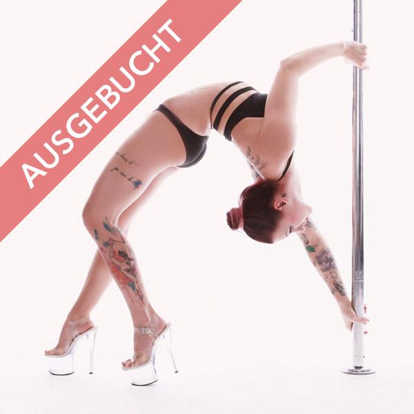 Poledance aerial hoop shooting pole circus ausgebucht