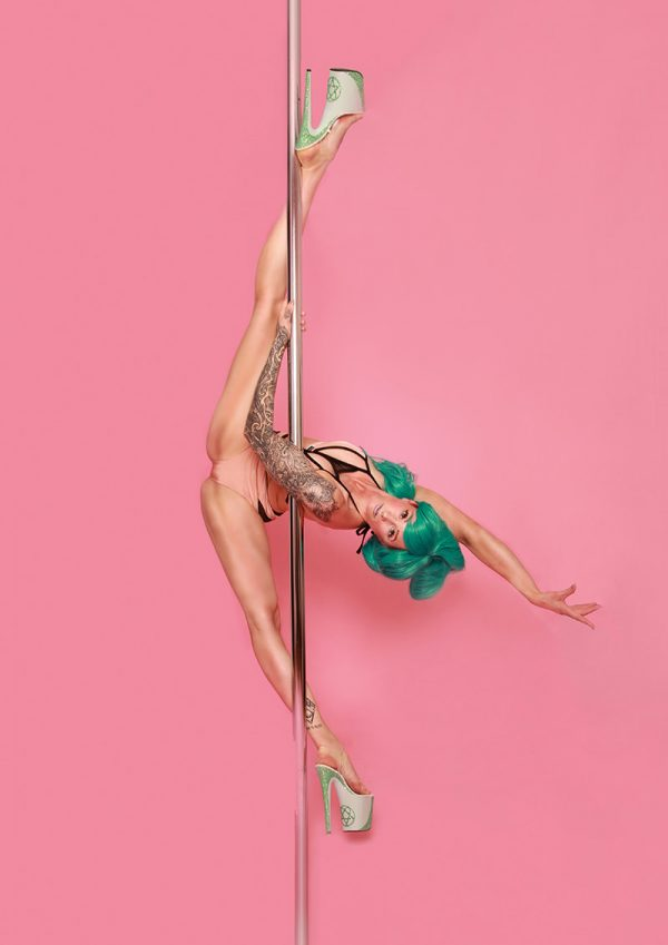POLE AERIAL DANCE - Wandkalender 2018 (quer) - LATE NIGHT TALES Photography Christina Bulka Fotograf / Fotografie