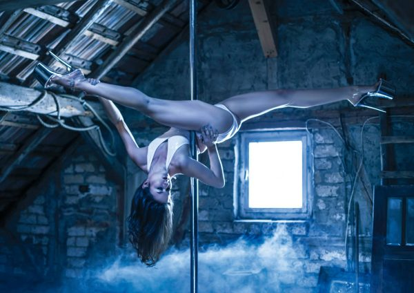 POLEDANCE AERIAL DANCE - Wandkalender 2018 (quer) - LATE NIGHT TALES Photography Christina Bulka Fotograf / Fotografie